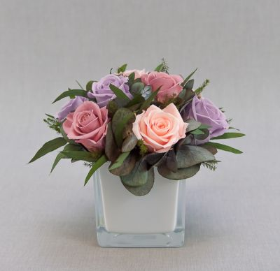 Стабилизированные цветы – новинка во флористике