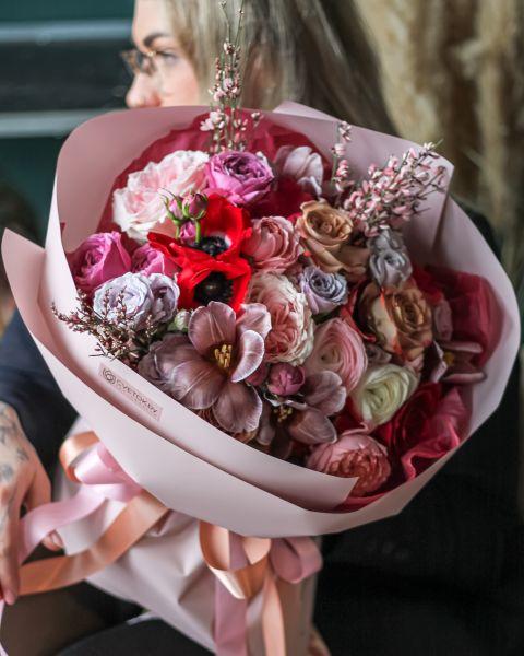 Букет Цветочное Кружево