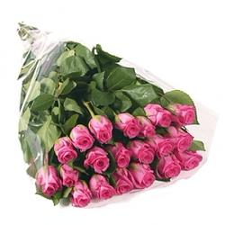 Букет большой из розовых роз