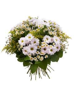 """Букет """"Полевые цветы"""" из хризантем"""