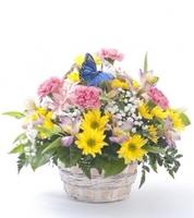 """Цветы в корзине """"Весна на пороге"""""""