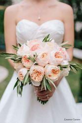 """Букет невесты """"Нежность садовых роз"""""""