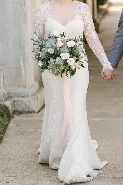 "Букет невесты ""Тилландсия"""