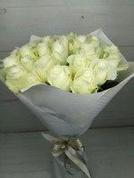 """Букет """"из 25 белых роз"""""""