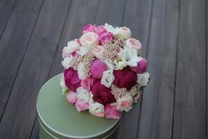 """Букет невесты """"Розовый шарм"""""""