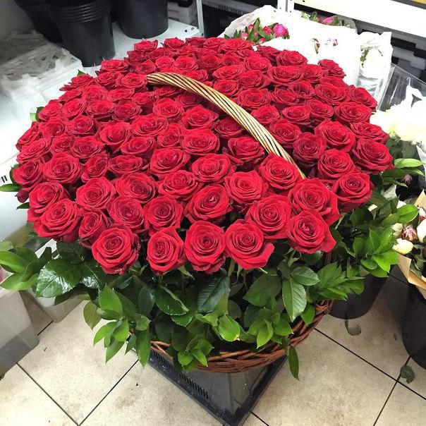 Цветы в корзине ''Клеопатра''