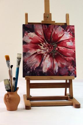 """Панно """"Живописные цветы"""" 003"""