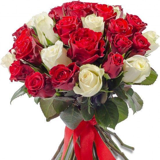 Букет из 41 розы микс