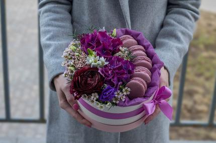 """Коробка """"Фиолет"""""""