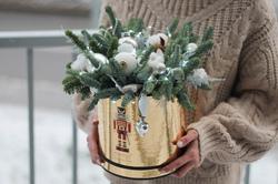 """Новогодняя коробочка """"Холодное сердце"""""""