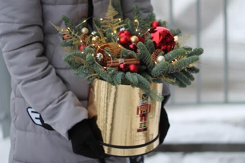 """Новогодняя коробочка """"Канун Рождества"""""""