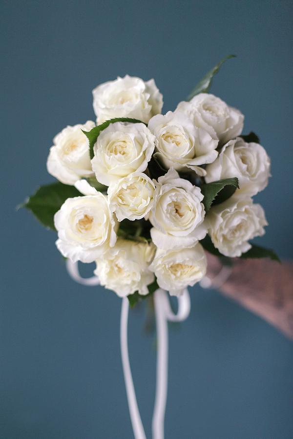 """Букет невесты """"Пленительный белый"""""""