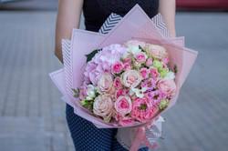 """Букет """"Розовая пудра"""""""