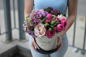 "Цветы в коробке ""Тиара"""