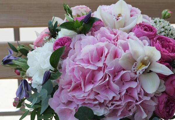 """Букет цветов в коробке """"Настроение"""""""