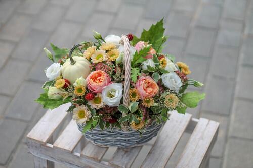 "Корзина цветов ""Мечта"""