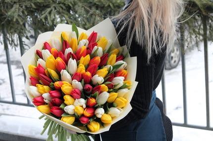 """Букет """"Тёплая весна"""""""