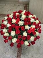 """Корзина цветов """"Юбилейная"""""""