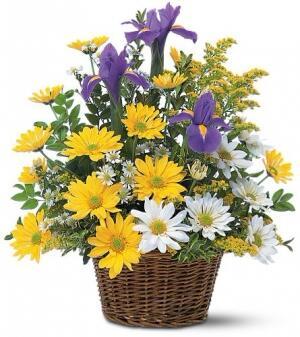 Корзина с цветами ''Милашка''