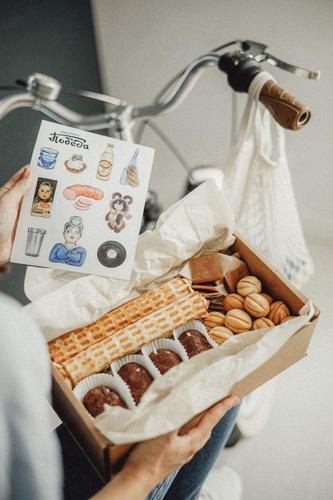 "Коробка ретро-сладостей ""Фабрика Победа"""