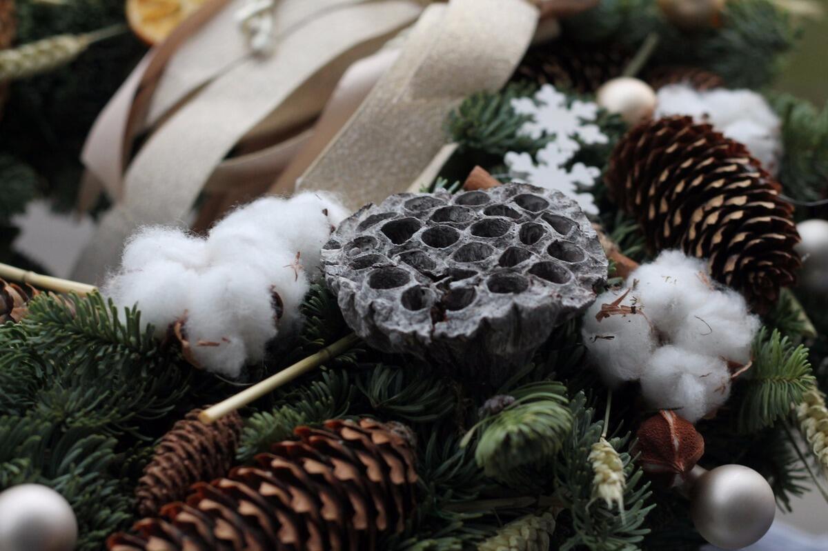 Рождественский венок большой