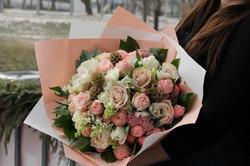 "Букет "" Каталина"" из роз"