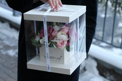 """Букет цветов в коробке """"Леди"""""""