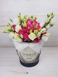 Недорогие цветы в коробке